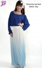 New Pleated Chiffon Two Tone Skirt E6025 for June 2013