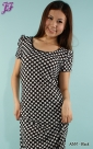 New Polka Dot Long Dress A881 & A882 for March 2012