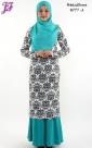 New Printed Paisley Dress N777 for Nov 2013