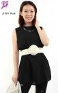 New Sleeveless Chiffon Blouses J1081 for Jan 2013
