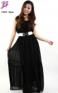 New Sleeveless Chiffon Dress F869 for Feb 2013