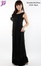 New Sleeveless Cotton Net Long Dress U055 for Sept 2013