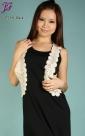 New Sleeveless Long Cotton Dress E789
