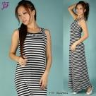New Sleeveless Long Dress F791 for Feb 2012