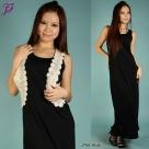 New Sleeveless Long Dress J789 for Jan 2012