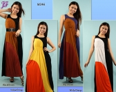 New Sleeveless Long Dress M246 & M286 for May 2012
