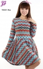 New Tribal Peplum Dress T3029 for May 2013