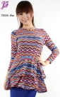 New Tribal Peplum Layer T3026 for April 2013