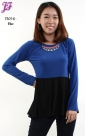 New Two Tone Peplum T3016 for April 2013
