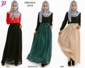 Restock of Aini Chiffon Skirt J6023