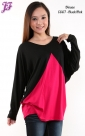 Restock of Cotton Color Block Blouse C667