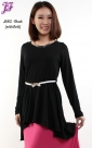 Restock of Cotton Dipped Hem Peplum J682