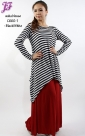 Restock of Cotton Stripes Waka Blouse C660-1