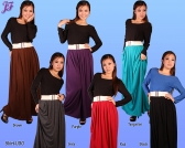 Restock of Long Cotton Skirt U30, U31 and E016