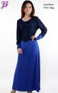 Restock of Long Lycra Lace Dress Y737