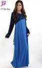 Restock of  Long Lycra Maxi Dress C1166