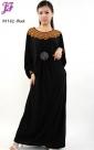 Restock of  Long Lycra Maxi Dress N1162
