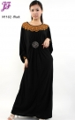 Restock of  Long Lycra Maxi Dress N1162