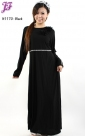 Restock of  Long Lycra Maxi Dress N1170