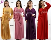 Restock of  Long Lycra Maxi Dress T9033