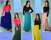 Restock of Long Lycra Skirt T9012
