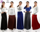 Restock of Long Lycra Skirts N9000