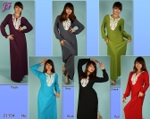 Restock of  Long Maxi Dress C1154 and C1155