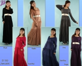Restock of Long Maxi Dress E1150