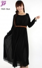 Restock of Long sleeve Chiffon Dress F868