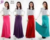 Restock of Lycra A-Shape Skirt - N9000