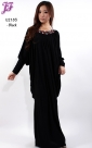 Restock of Lycra Kaftan Maxi Dress U2183