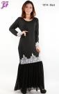 Restock of Lycra Kurung Dress with Chiffon Y874