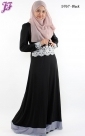 Restock of Lycra Lace Embroidered Long Dress S767