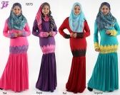 Restock of Lycra Lace Kurung Dress - Y875