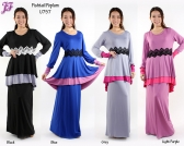 Restock of Lycra Layer Fishtail Peplum  - U757