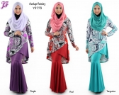 Restock of Lycra Overlap Paisley with Skirt Y5773 for Nov 2014