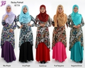 Restock of Lycra Paisley Fishtail - N779