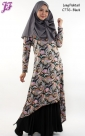 Restock of Lycra Paisley Long Fishtail C776