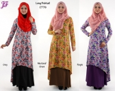 Restock of Lycra Paisley Long Fishtail - C776