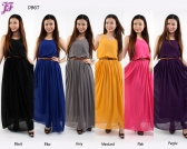 Restock of Sleeveless Chiffon Dress -  D867