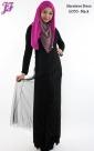 Restock of Sleeveless Cotton Net Long Dress U055