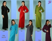 Restock of Tunic Hoodie N2070 and Lycra maxi N2076