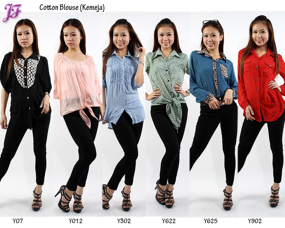 Cotton Blouse (Kemeja) for July 2012