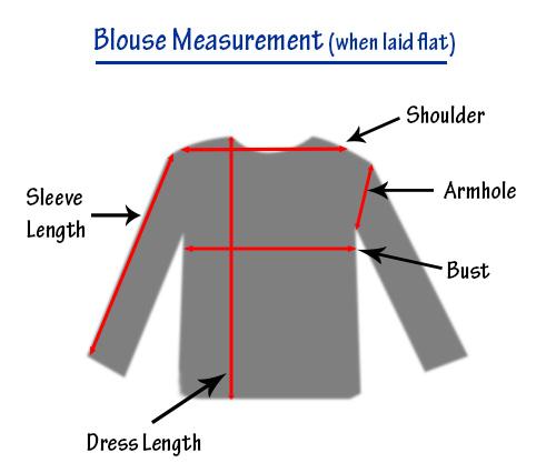 measurement-blouse